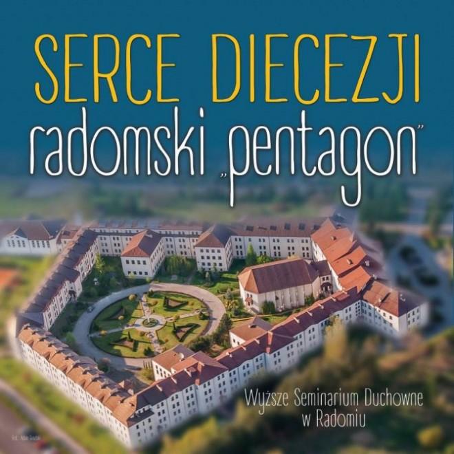 """Zaproszenie na wystawę SERCE DIECEZJI – RADOMSKI """"PENTAGON"""""""
