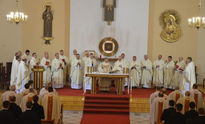 Srebrny jubileusz kapłaństwa w Wyższym Seminarium Duchownym w Radomiu