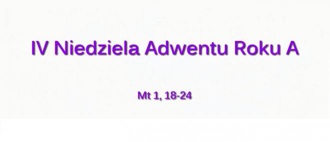 NSŻ #4: IV Niedziela Adwentu Roku A – Bp Piotr Turzyński