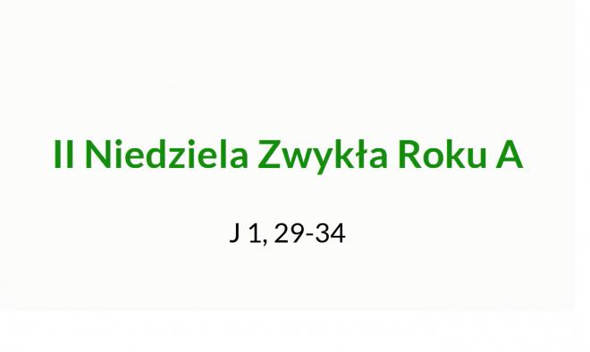 NSŻ #8: II Niedziela Zwykła Roku A – ks. Maciej Korczyński