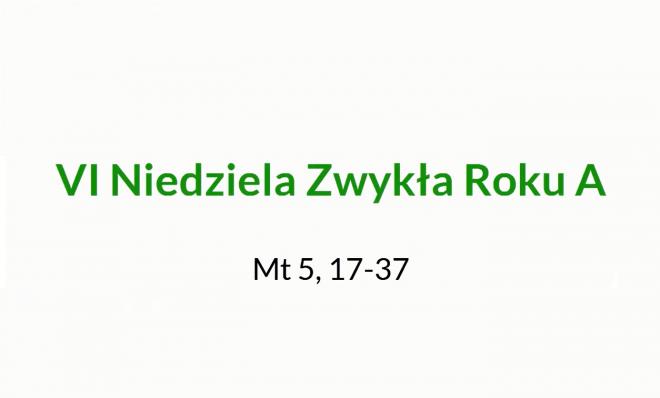 NSŻ #12: VI Niedziela Zwykła Roku A – ks. Stanisław Łabendowicz