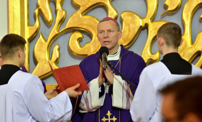 Trzy cnoty Boskie na trzy lata biskupstwa